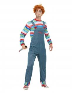 Chucky™ Lizenzkostüm für Herren bunt