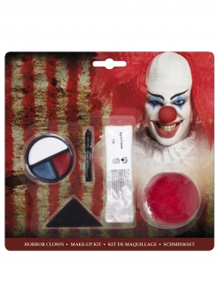 Horrorclown-Make-up Schminkset Halloween