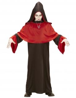 Apokalyptischer Dämonen-Priester Kinder-Kostüm schwarz-rot