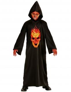 Höllendämon-Kostüm für Jungen Halloweenkostüm schwarz-rot