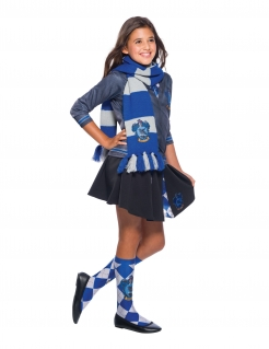 Ravenclaw™-Schal Harry Potter™ weiss-blau