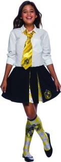 Hufflepuff™ Krawatte Harry Potter™ gelb-schwarz