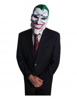 Joker™-Maske mit breitem Grinsen für Erwachsene