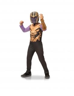 Thanos™-Kostüm für Kinder Halloween violett-gold