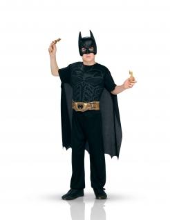Batman™-Kostüm für Kinder 6-teilig schwarz-gelb