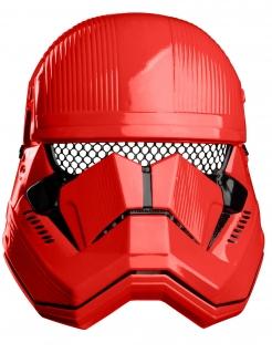 Sith Trooper™ Halbmaske für Kinder rot-schwarz