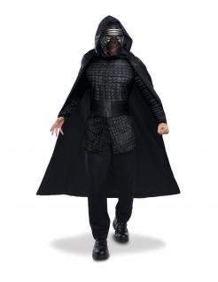 Kylo-Ren™-Kostüm für Herren Star Wars™ Halloween schwarz-grau