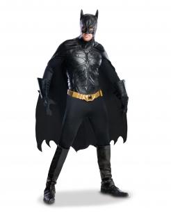 Luxuriöses Batman-Kostüm für Sammler schwarz-goldfarben
