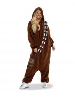 Chewbacca™-Overall Star-Wars™-Kostüm für Erwachsene braun