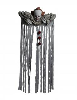 Offizieller Es™-Türvorhang Halloween-Deko grau-rot