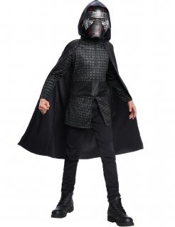 Kylo-Ren™-Kostüm für Jungen mit Maske Star Wars™ schwarz-grau
