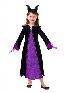 Maleficent™-Kostüm für Mädchen Lizenzware schwarz-violett