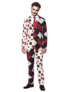 Lässiges Clownkostüm für Herren Halloween-Anzug