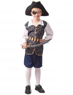 Edles Piraten-Kinderkostüm für Jungen bunt