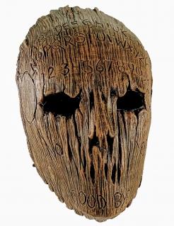 Ouija-Maske für Erwachsene Baum-Dämon braun