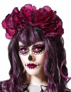 Blumen-Krone Tag der Toten rot