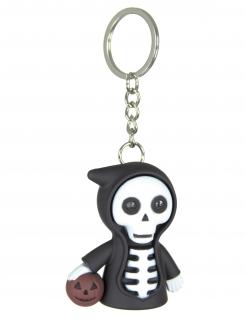 Sensenmann-Schlüsselanhänger Halloween schwarz