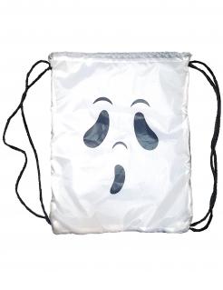 Geister-Beutel für Kinder Halloween schwarz-weiss