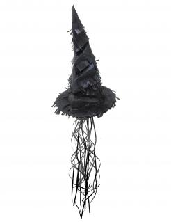 Magier-Hut Piñata schwarz 50 cm