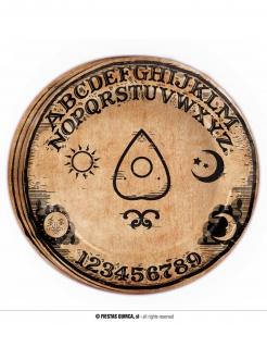Ouija-Deko Halloween-Pappteller 8 Stück 23 cm