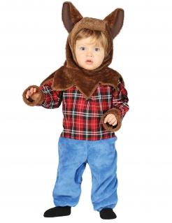 Werwolf Kinderkostüm Halloweenkostüm bunt
