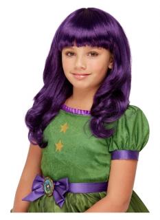Santoro™-Hexenperücke für Mädchen violett