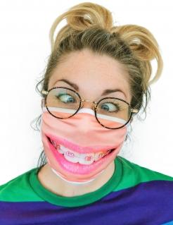 Mundbedeckung Zahnspange Behelfsmaske