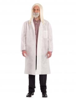 Covid Professoren-Kostüm für Erwachsene weiss
