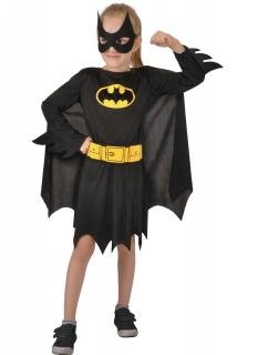 Batgirl™-Kostüm für Mädchen  Superheldin schwarz-gelb