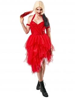 Harley-Quinn™-Kleid aus Suicide-Squad 2™ rot