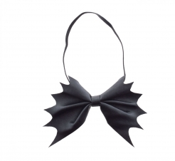 Fledermaus-Fliege schwarz Halloween