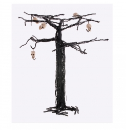 Halloween Totenkopf Baum, Skull, Dekoration, Deko, 28 cm