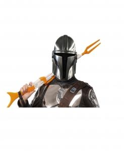 The-Mandalorian™-Maske Star Wars™ silber-braun