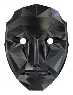 Meister des Spiels Maske schwarz
