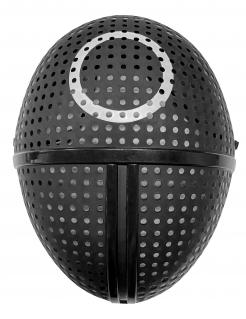 Wächter-Maske Kreis Kunststoff