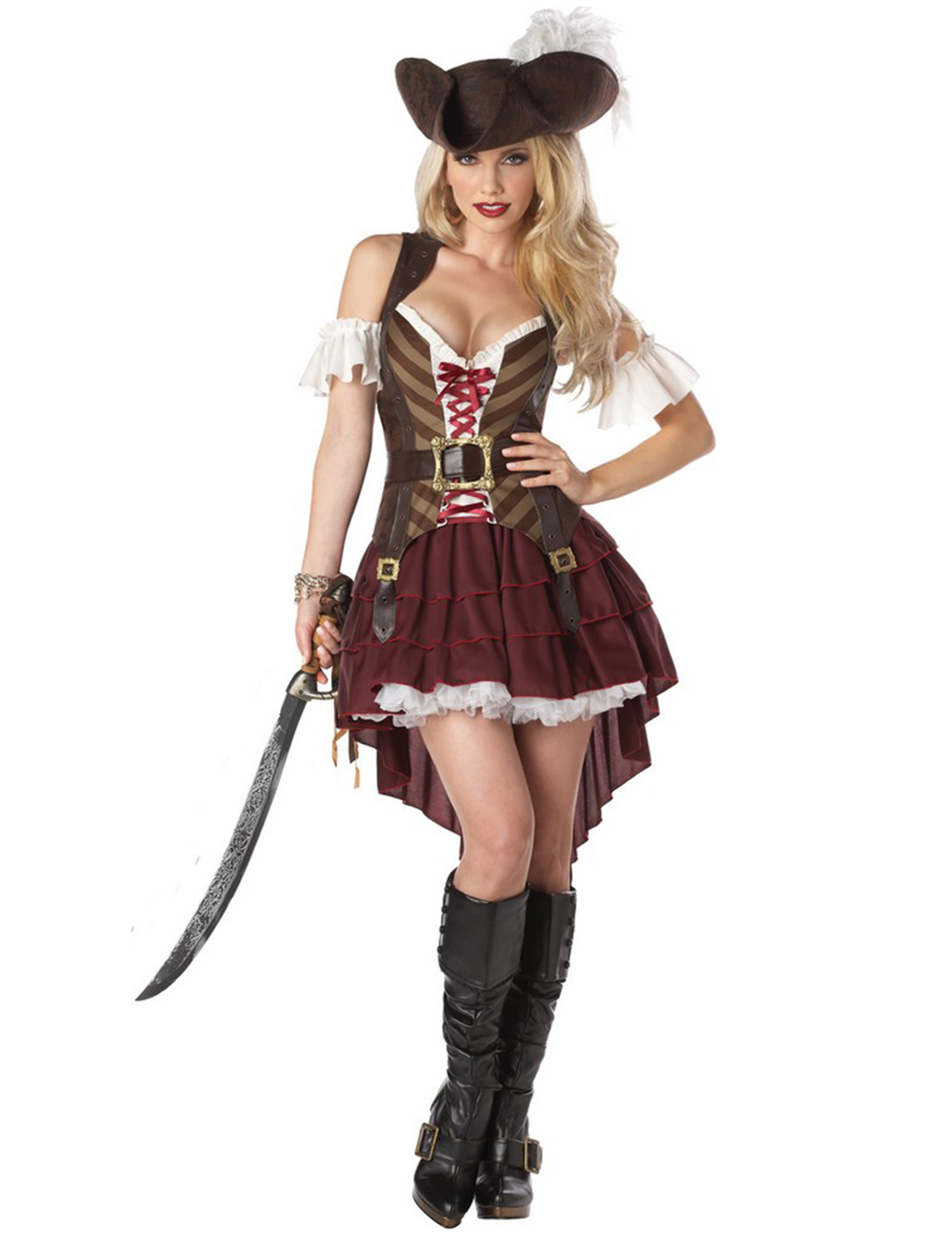 kostüm damen piratin