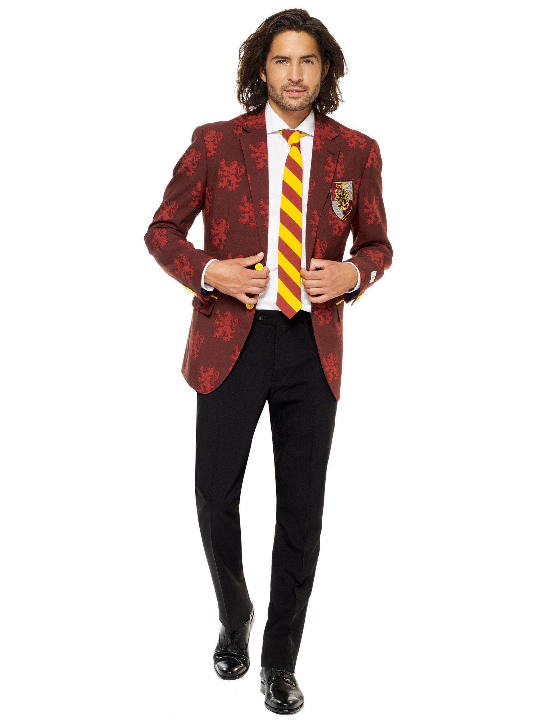 online retailer 99aa9 973a3 Harry Potter Opposuits™-Anzug für Herren Halloween rot-gelb-schwarz