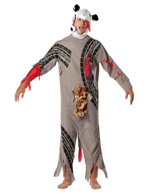Road Kill Uberfahrenes Tier Halloween Kostum Bunt Gunstige