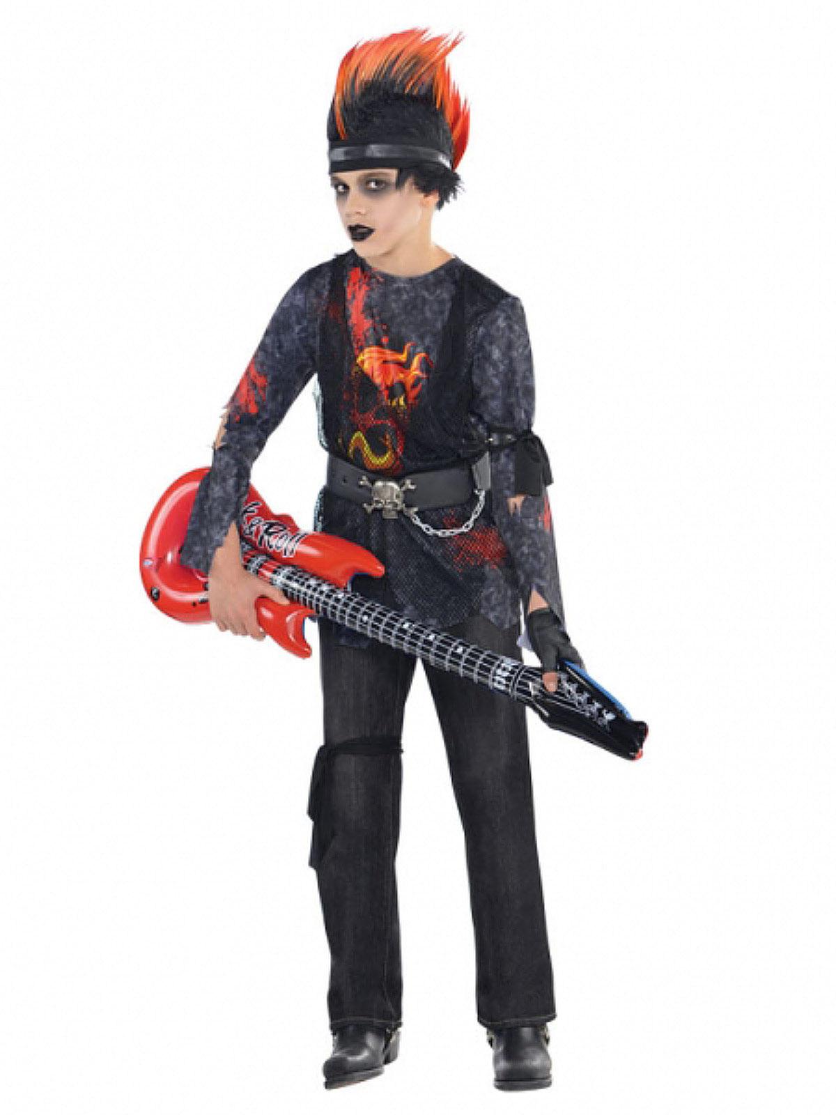 Rockstar Kinderkostum Haloween Bunt Gunstige Halloween Kostume Bei