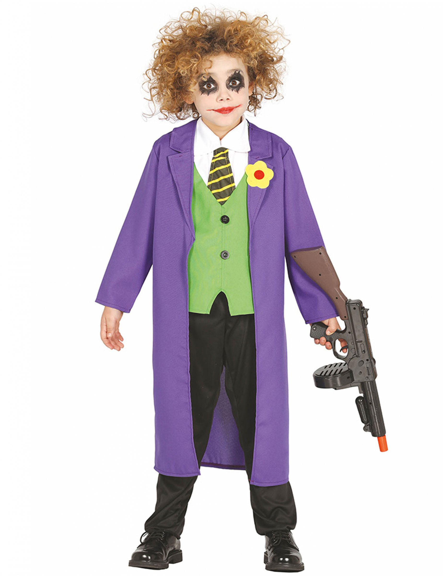 joker kostum fur kinder clown kinderkostum bunt