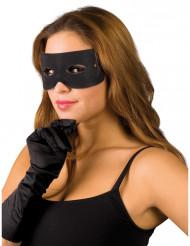 Banditen Augenmaske schwarz