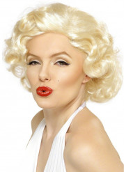 Marilyn Locken-Perücke Lizenzware blond