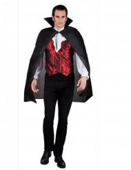 Halloween Vampir-Umhang schwarz 120cm