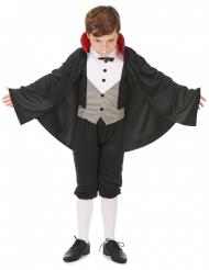 Vampir Halloween Kinderkostüm schwarz-grau-weiss