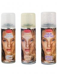 Glitzer Haarspray silber 125ml