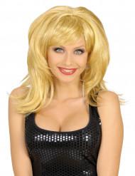 Disco Damen-Perücke blond