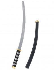 Ninja Schwert schwarz-gold 41cm