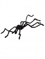 Riesenspinne Halloween-Deko schwarz 100cm