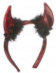 Teufel Hörner schwarz-rot