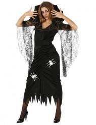 Cod.173646 Spinnenköniginnen-Kostüm Halloween für Mädchen